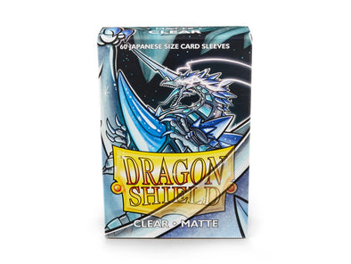 Dragon Shield - 60ct Japanese Size - Clear Matte - 401 Games