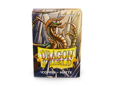 Buy Dragon Shield - 60ct Japanese Size - Copper Matte and more Great Sleeves & Supplies Products at 401 Games