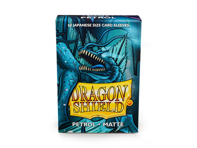 Buy Dragon Shield - 60ct Japanese Size - Petrol Matte and more Great Sleeves & Supplies Products at 401 Games