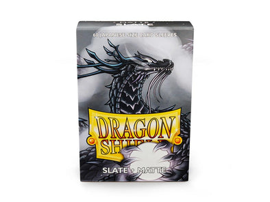 Buy Dragon Shield - 60ct Japanese Size - Slate Matte and more Great Sleeves & Supplies Products at 401 Games