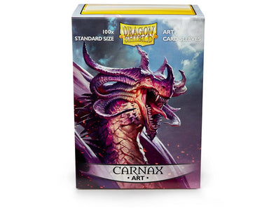 Buy Dragon Shield - 100ct Standard Size - Art - Carnax and more Great Sleeves & Supplies Products at 401 Games