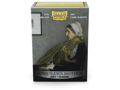 Buy Dragon Shield - 100ct Standard Size - Art - Whistler's Mother and more Great Sleeves & Supplies Products at 401 Games