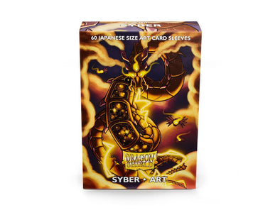 Buy Dragon Shield - 60ct Japanese Size - Art - Syber and more Great Sleeves & Supplies Products at 401 Games
