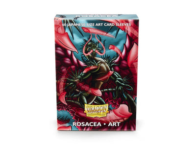 Buy Dragon Shield - 60ct Japanese Size - Art - Rosacea and more Great Sleeves & Supplies Products at 401 Games