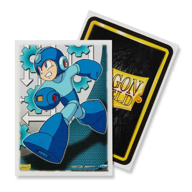 Dragon Shield - 100ct Standard Size - Art - Mega Man - 401 Games