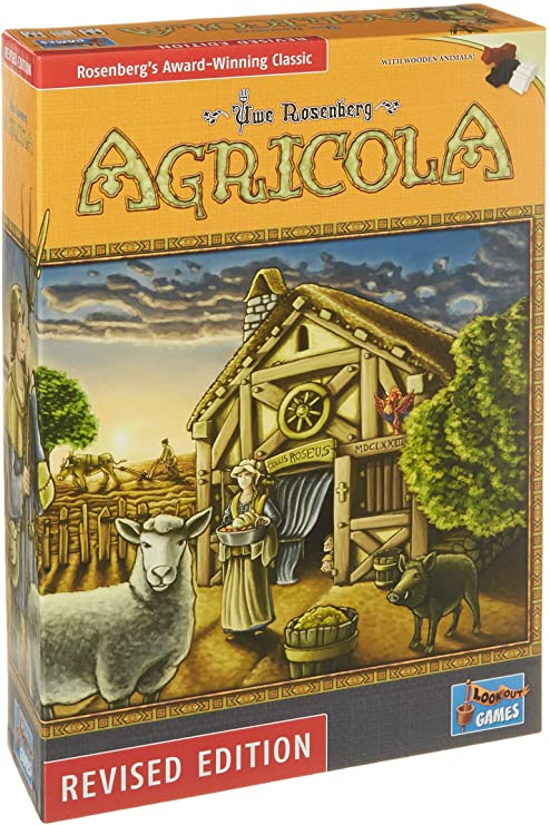 Agricola available at 401 Games Canada