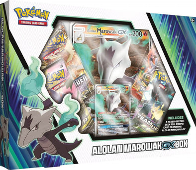 Pokemon - Alolan Marowak GX Box available at 401 Games Canada