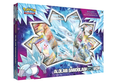 Pokemon - Alolan Sandslash GX Box - 401 Games