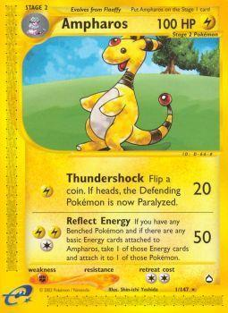 Buy Ampharos - 1/147 and more Great Pokemon Products at 401 Games