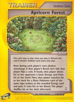 Buy Apricorn Forest - 118/147 and more Great Pokemon Products at 401 Games