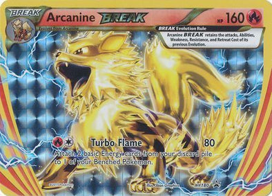 Buy Arcanine BREAK - XY180 and more Great Pokemon Products at 401 Games