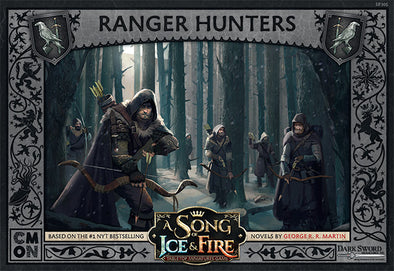 A Song of Ice and Fire - Tabletop Miniatures Game - Night's Watch - Ranger Hunters - 401 Games