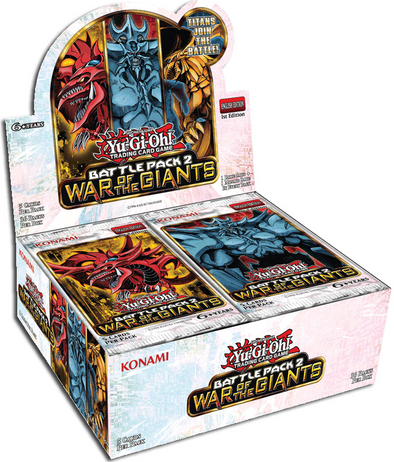 Yugioh - Battle Pack 2 - War of the Giants Booster Box - 401 Games