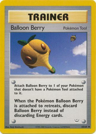 Buy Balloon Berry - 60/64 - Unlimited and more Great Pokemon Products at 401 Games