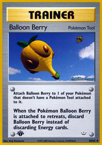 Buy Balloon Berry - 60/64 - 1st Ed and more Great Pokemon Products at 401 Games