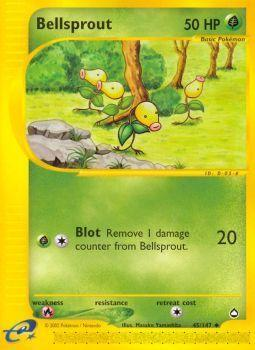 Buy Bellsprout - 45/147 - Reverse Foil and more Great Pokemon Products at 401 Games