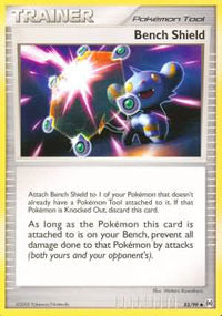 Buy Bench Shield - 83/99 - Reverse Foil and more Great Pokemon Products at 401 Games