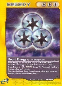 Buy Boost Energy - 145/147 and more Great Pokemon Products at 401 Games