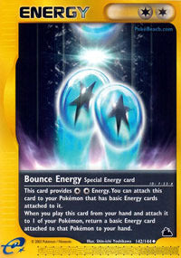 Bounce Energy - 142/144 - Reverse Foil (SKY) available at 401 Games Canada