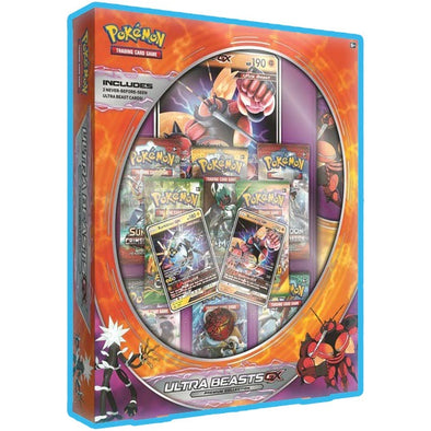Buy Pokemon - Ultra Beasts Premium Collection Buzzwole-GX and Xurkitree-GX and more Great Pokemon Products at 401 Games