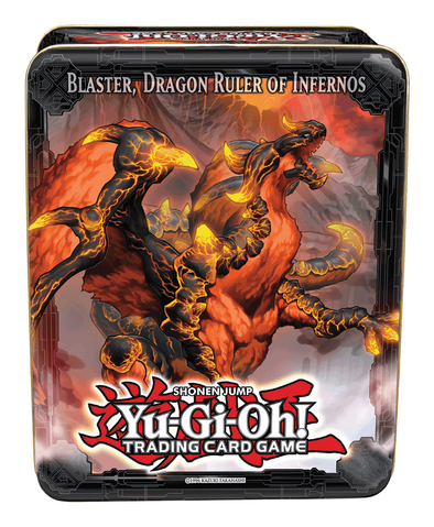 Buy Yugioh - Blaster, Dragon Ruler of Infernos 2013 Tin Wave 1 and more Great Yugioh Products at 401 Games