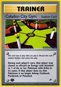 Buy Celadon City Gym - 107/132 - 1st Ed (1GYMH) and more Great Pokemon Products at 401 Games