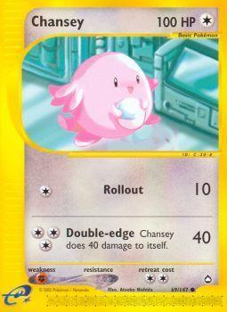 Buy Chansey - 69/147 - Reverse Foil and more Great Pokemon Products at 401 Games