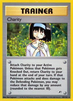 Buy Charity - 99/132 - Unlimited (GYMH) and more Great Pokemon Products at 401 Games