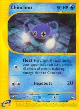 Buy Chinchou - 70/147 - Reverse Foil and more Great Pokemon Products at 401 Games