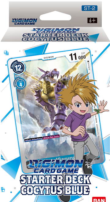 "Digimon Card Game - Starter Deck ""Cocytus Blue"" (Pre-Order January 29, 2021) - 401 Games"
