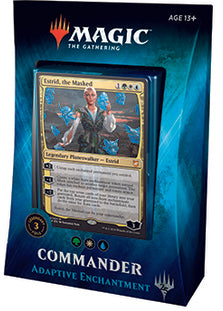 Buy MTG - Commander 2018 Deck - Adaptive Enchantment and more Great Magic: The Gathering Products at 401 Games