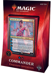 Buy MTG - Commander 2018 Deck - Exquisite Invention and more Great Magic: The Gathering Products at 401 Games