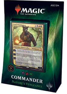 Buy MTG - Commander 2018 Deck - Nature's Vengeance and more Great Magic: The Gathering Products at 401 Games
