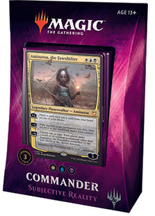 Buy MTG - Commander 2018 Deck - Subjective Reality and more Great Magic: The Gathering Products at 401 Games