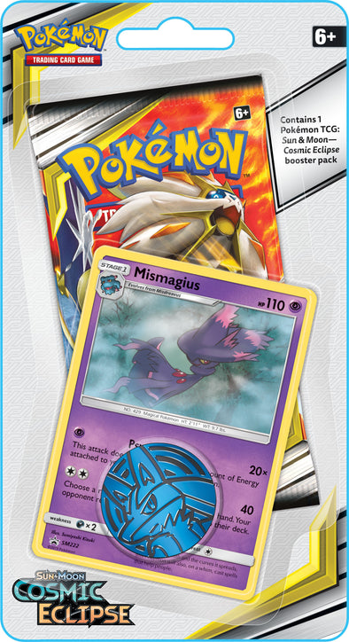 Pokemon - Cosmic Eclipse Check Lane Blister - Mismagius available at 401 Games Canada