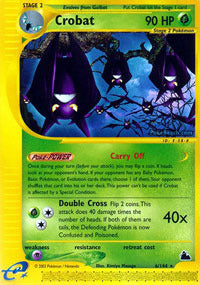 Crobat - 6/144 (SKY) available at 401 Games Canada