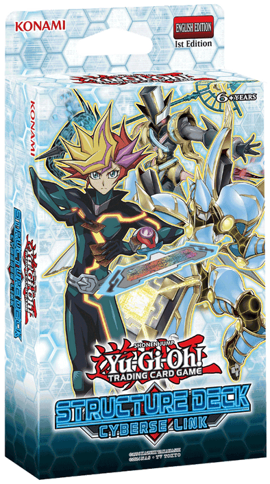 Yugioh - Cyberse Link Structure Deck - 401 Games