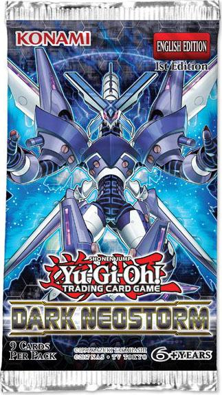 Yugioh - Dark Neostorm Booster Pack available at 401 Games Canada