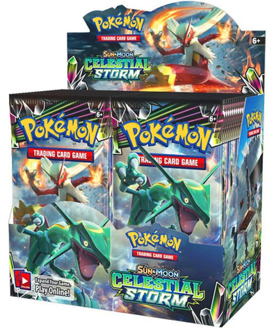 Buy Pokemon - Celestial Storm Booster Box and more Great Pokemon Products at 401 Games