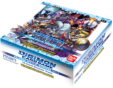 "Digimon Card Game ""Version 1.0"" Booster Box (Pre-Order - January 29, 2021) - 401 Games"