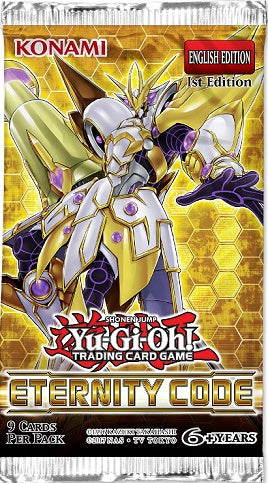 Yugioh - Eternity Code - 1st Edition Booster Pack available at 401 Games Canada