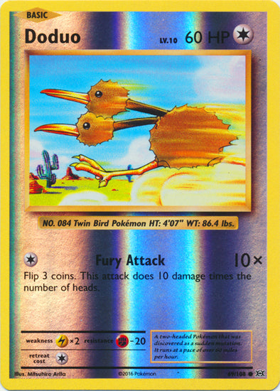 Buy Doduo - 69/108 - Reverse Foil and more Great Pokemon Products at 401 Games