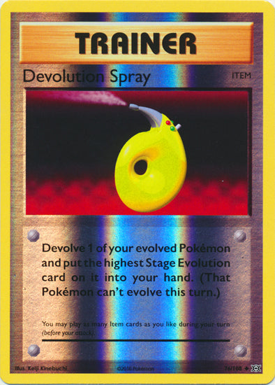 Buy Devolution Spray - 76/108 - Reverse Foil and more Great Pokemon Products at 401 Games