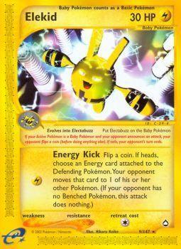 Buy Elekid - 9/147 - Reverse Foil and more Great Pokemon Products at 401 Games