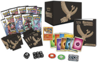 Buy Pokemon - Shining Legends Elite Trainer Box and more Great Pokemon Products at 401 Games