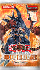Yugioh - Force of the Breaker Booster Pack available at 401 Games Canada