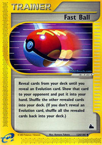Fast Ball - 124/144 - Reverse Foil - 401 Games