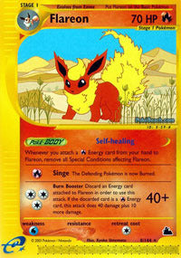 Flareon - 8/144 - Reverse Foil - 401 Games