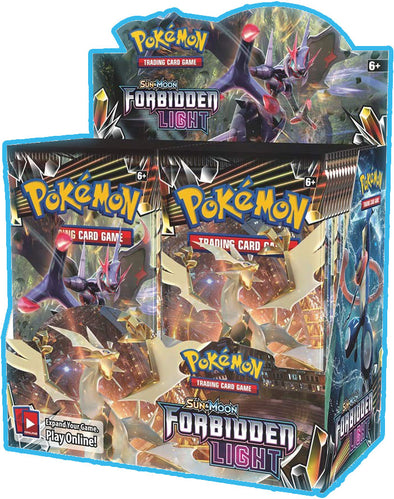 Buy Pokemon - Forbidden Light Booster Box and more Great Pokemon Products at 401 Games