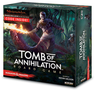Buy Dungeons and Dragons - Tomb of Annihilation Standard Edition and more Great Board Games Products at 401 Games